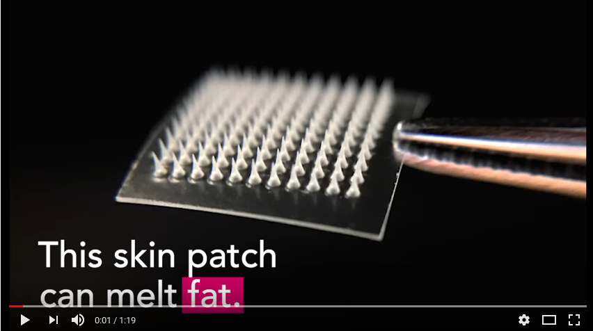 Belly Fat: Skin Patch Converts White Fat into Brown Fat